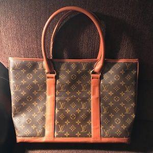 """Authentic LV Louis Vuitton Large Tote Bag16""""x11""""x3"""